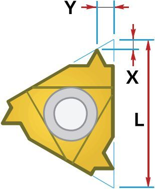 3 EL G60 CPM9010 5120008 MEGA-TEC пластина резьбовая твердосплавная неполный профиль 60°